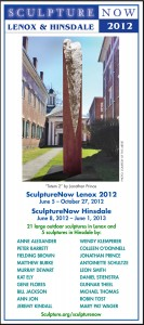 SculptureNow Exhibition Card 2012